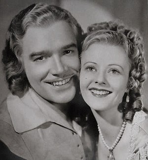 Walter Abel - Walter Abel as D'Artagnan, with Heather Angel, 1935