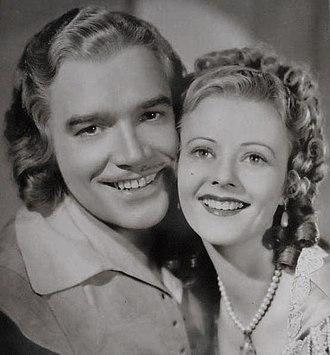 Walter Abel - Walter Abel as D'Artagnan, with Heather Angel, 1935