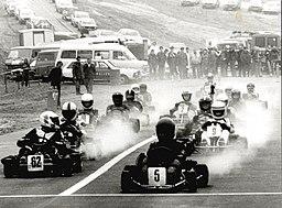 Walter Schmühl, Erftlandring – Rennen auf der Kart-Bahn, 1980, Stadtarchiv Kerpen BA 00020