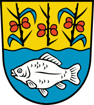 Brieskow-Finkenheerd - Image: Wappen Brieskow Finkenheerd