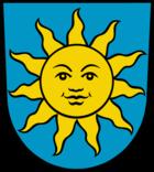 Das Wappen von Sonnewalde