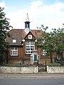 War Memorial and former Elementary School - geograph.org.uk - 953161.jpg