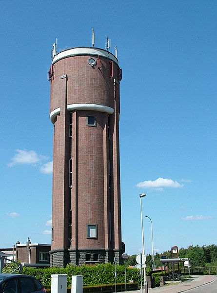 Water tower of Wijnegem (Antwerp region, Belgium)
