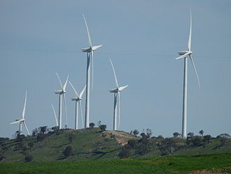 Waterloo Wind Farm - Turbines in 2010