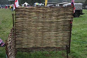 Hurdle - A traditional wattle hurdle