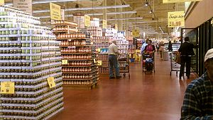 "A typical interior of a modern ""superstor..."