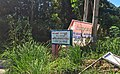 Welcome gate to Somba Debata Purba, Saipar Dolok Hole, Tapanuli Selatan.jpg