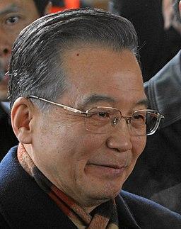 Wen Jiabao in Davos crop