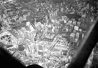 Vista parcial do Vale do Anhangabaú e arredores. São Paulo/SP