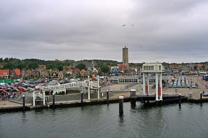 West-Terschelling - View from the harbour