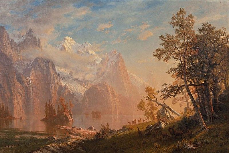File:Western Landscape, Mount Whitney by Albert Bierstadt.jpg