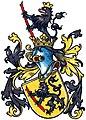 Westfälisches Wappenbuch Wappen Westfalen Tafel 219 3 korrigiert roter Stab.jpg
