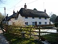 Wherwell - Cottage On The River Test - geograph.org.uk - 1466572.jpg