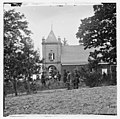White House Landing, Virginia (vicinity). St. Peter's church with Federal soldiers in the foreground LOC cwpb.01479.jpg