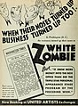 White Zombie ad - The Film Daily, Jul-Dec 1932 (page 218 crop).jpg