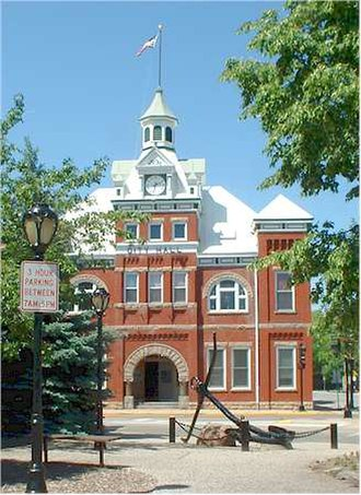 New London, Wisconsin - Old City Hall of New London