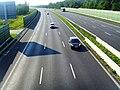 Widok z mostu nad autostradą krajową A4 - panoramio.jpg