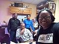 WikiCari Wikipedia editor training at DBS radio Roseau, Dominica.jpg