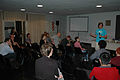 Wikimania 2009 - Legislation lobby discussion (1).jpg