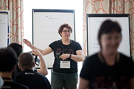 Wikimedia Hackathon Vienna 2017-05-19 Mentoring Program Introduction 013.jpg