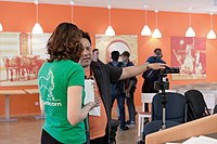 Wikimedia Hackathon Vienna 2017-05-19 opening 19.jpg