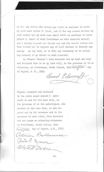 File:Will of H.P. Lovecraft, August 12, 1912.djvu