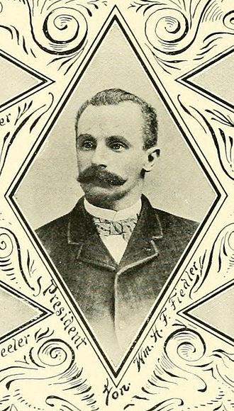 William H. F. Fiedler - Image: William HF Fielder