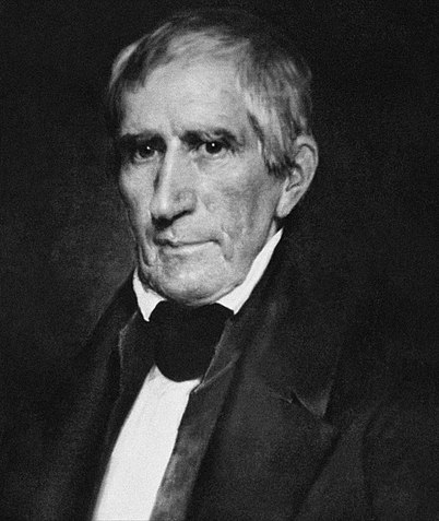 William Henry Harrison, a two-time presidential candidate who became the first Whig president in 1841 but died just one month into office