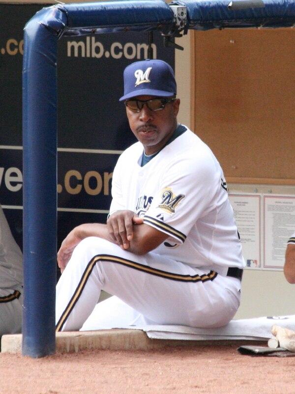 Willie Randolph Milwaukee Brewers Bench Coach