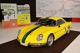 Alpine (automobile) - Willys Interlagos Berlineta, the Brazilian A108