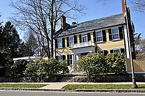 National Register of Historic Places listings in Winchester, Massachusetts - Image: Winchester MA Robert Bacon House