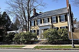 Robert Bacon House - Image: Winchester MA Robert Bacon House
