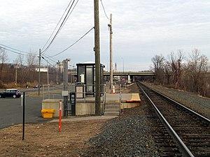 Windsor Locks station - Windsor Locks station in January 2015
