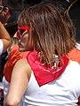 Woman Celebrant at San Fermin Festival - Pamplona - Navarra - Spain (14420291747).jpg