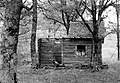 Wooden cottage, relaxation Fortepan 62231.jpg