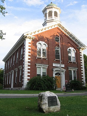 Woodstock, Vermont - The Windsor County Courthouse