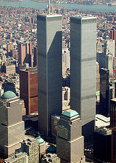 World Trade Center (1973–2001) Former skyscraper complex in Manhattan, New York
