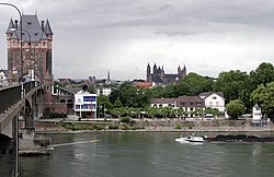Nibelungen Bridge over the Rhine at Worms