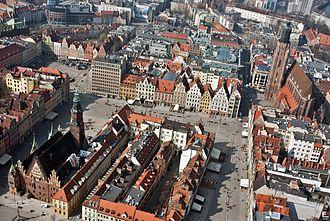 Market square - Image: Wrocław fotopolska.eu (293941)