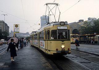 Trams in Wuppertal
