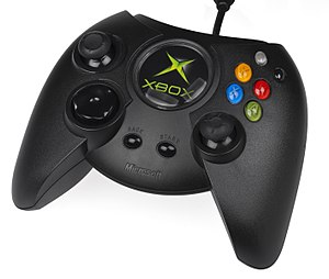 Xbox - Original Xbox controller, first showcased in 2000