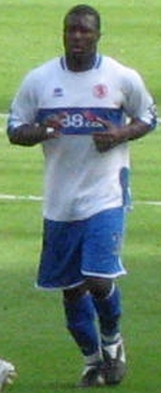 Yakubu Aiyegbeni - Yakubu in action for Middlesbrough, 2006