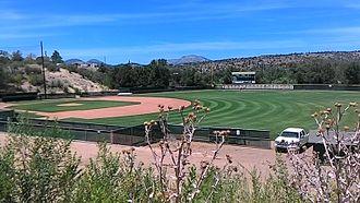 Yavapai College - Image: Yavapai College Ball Field