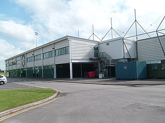 Huish Park - Image: Yeovil Town Football Ground geograph.org.uk 808807