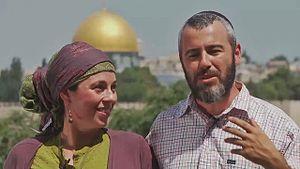 Yishai Fleisher - Yishai and Malkah Fleisher in Jerusalem