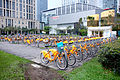 YouBike Bicycle Park in Zhongxin Square 20160327a.jpg
