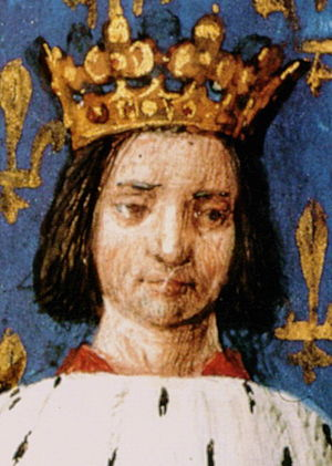 Dauphin of France - Image: Young Charles VI of France