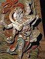 Yuan Dynasty (元) statue of Kundali (軍荼利明王; 军荼利明王; Juntuli Mingwang) one out of two Wisdom Kings, or vidyaraja (明王; Mingwang), in Fusheng Temple (福勝寺; 福胜寺), Yuncheng, Shanxi, China Picture 3.jpg