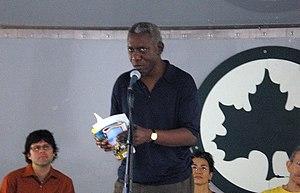 Yusef Komunyakaa - Komunyakaa at the 2006 Brooklyn Book Festival.