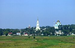 Zadonsk as seen from the M4 Highway